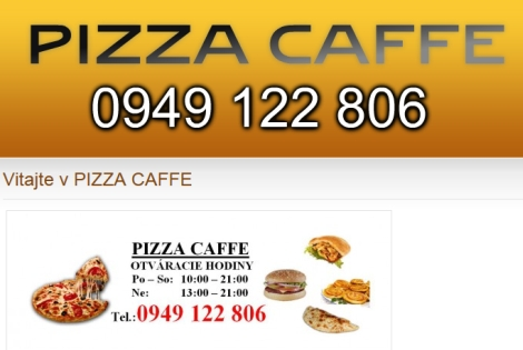 Pizza caffe